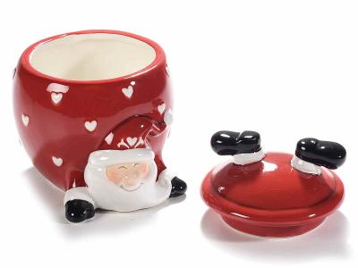 Recipiente de Crăciun din ceramică, pentru dulciuri [1]