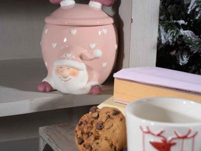 Recipiente de Crăciun din ceramică, pentru dulciuri [2]