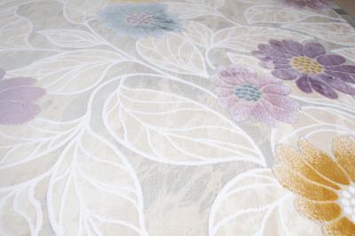 Covor acrilic floral universal - multicolor soft1