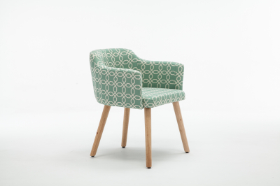 Fotoliu Model Geometric Material Lemn + Textil [1]