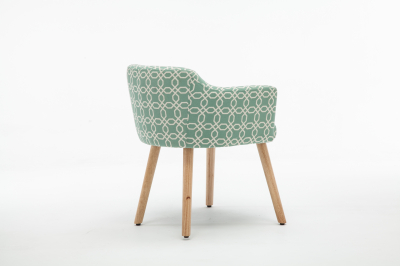 Fotoliu Model Geometric Material Lemn + Textil [3]