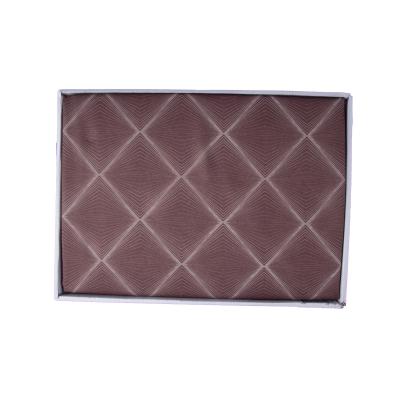 Lenjerie de pat policoton geometric maro - 200x230 cm [2]