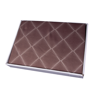 Lenjerie de pat policoton geometric maro - 200x230 cm [1]