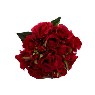 Buchet trandafiri artificiali1