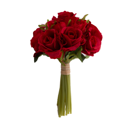 Buchet trandafiri artificiali0