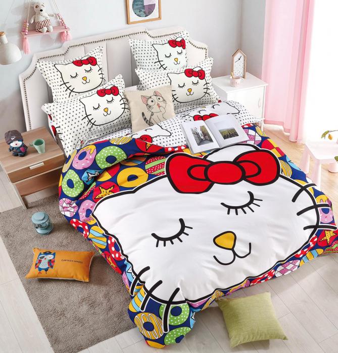 Lenjerie Finet 6 Piese cu Hello Kitty 0