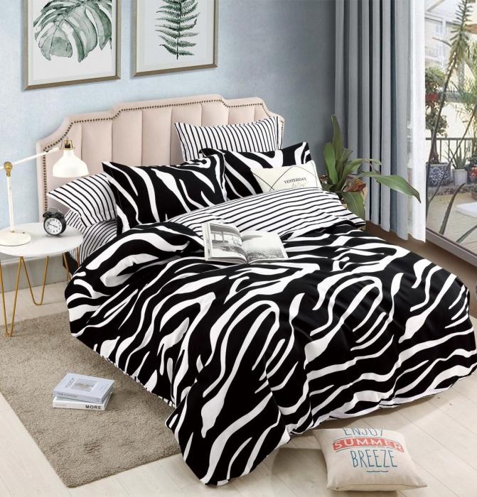 Lenjerie Finet 6 Piese cu Elastic, Zebra [0]