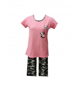 Pijama Dama Serena, cu Imprimeu Panda 2