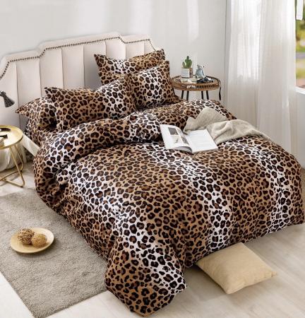 Lenjerie Finet 6 Piese , Leopard