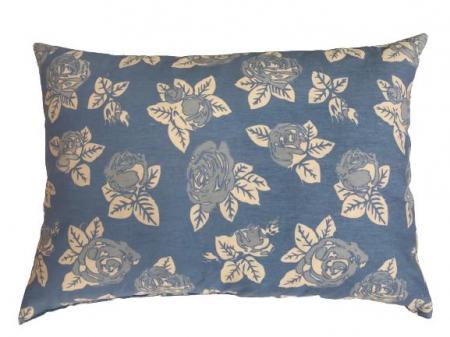Perna 50x70cm Bleu cu Trandafiri0