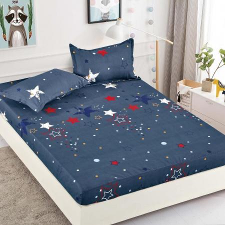 Set Lenjerie + Husa pat, cu Stele [2]
