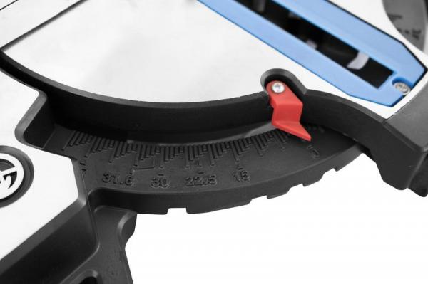 Fierastrau circular de masa unghiular GKS 250 Guede GUDE54985, 1800 W, Ø 250 mm 4