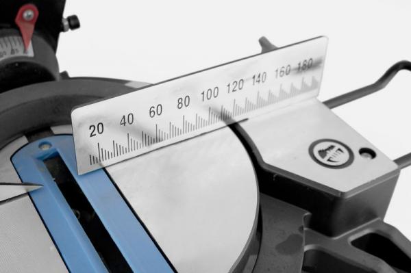 Fierastrau circular de masa unghiular GKS 250 Guede GUDE54985, 1800 W, Ø 250 mm 8