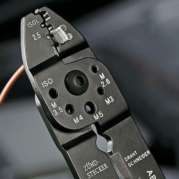 Cleste profesional pentru sertizat Knipex KNI9721215B, 230 mm 4