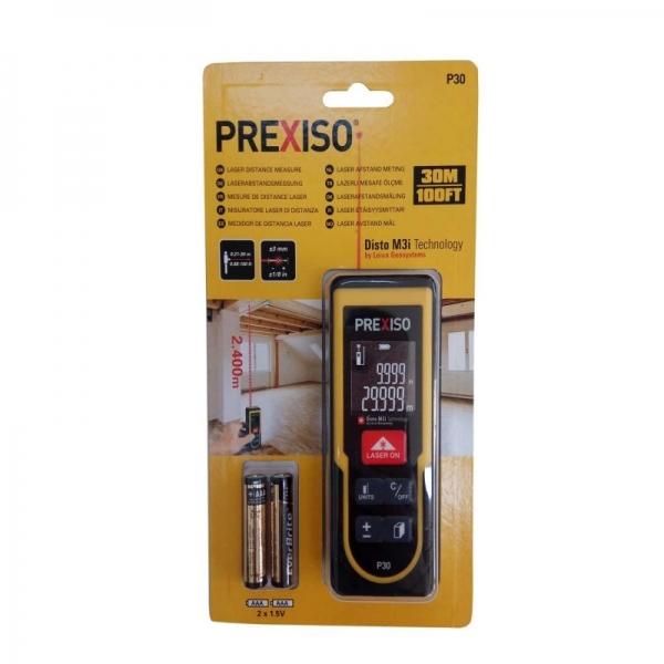 Aparat de măsură cu laser / Telemetru Prexiso HGSPREXISOP30, 0.21-30 m 1