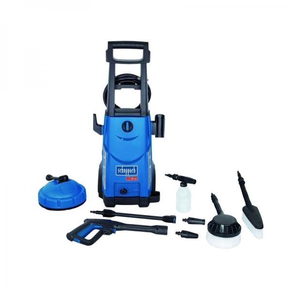 Aparat de spalat cu presiune + 8 accesorii HCE2400 Scheppach SCH5907705901, 2400 W, 180 bari 0
