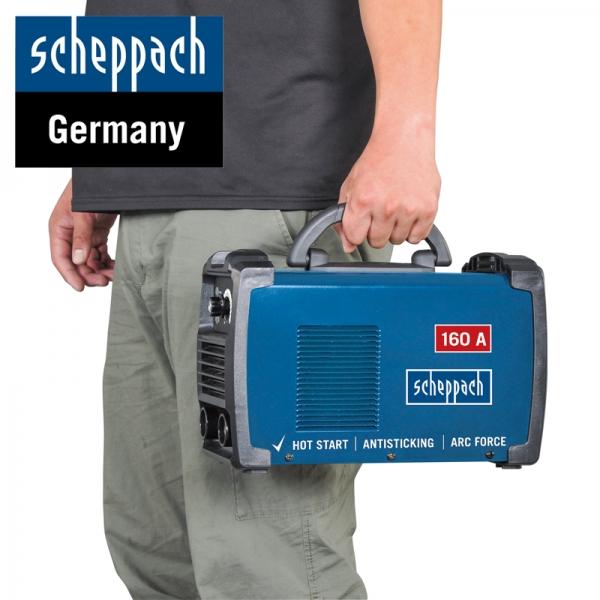 Aparat de sudură tip invertor WSE900 Scheppach SCH5906603901, 20-160 A, 85 V 4