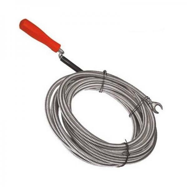 Arc pentru desfundat tevi tip sarpe Wert W4815, 15 m,  Ø9 mm 0
