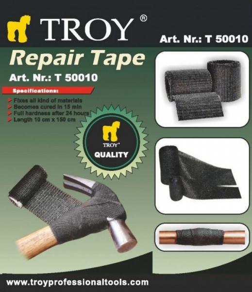 Banda adeziva pentru reparatii Troy T50010, 100 x 1500 mm 3