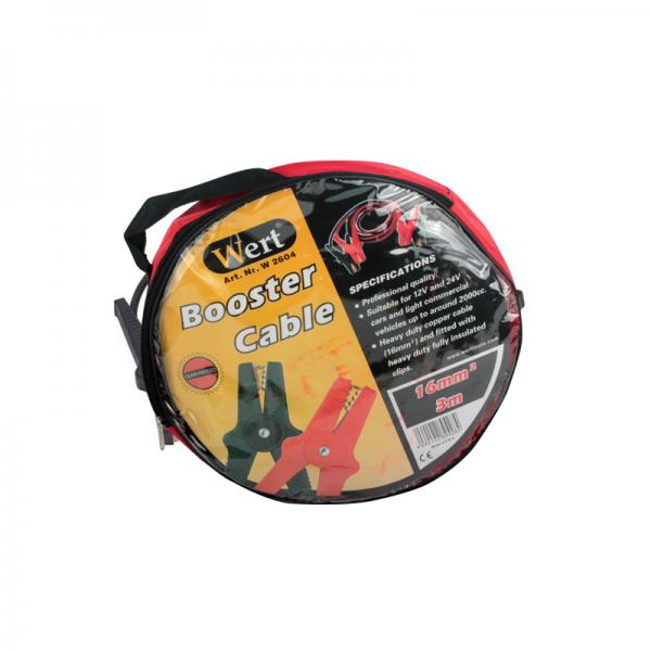 Cabluri curent auto Wert W2604, 3 m, 16 mm² 1
