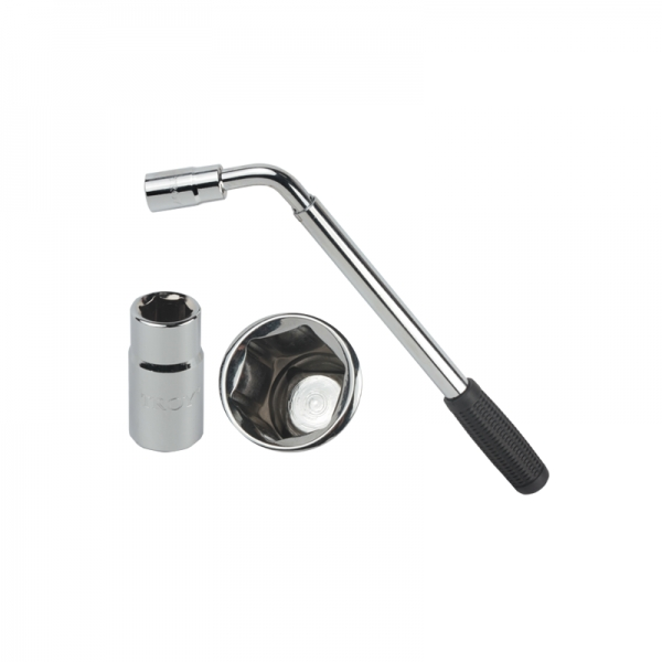Cheie pentru roti Troy T26903, 17-19 mm, telescopica 1