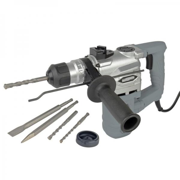 Ciocan rotopercutor SDS Plus Mannesmann M12591, 900 W, 800 rpm 0