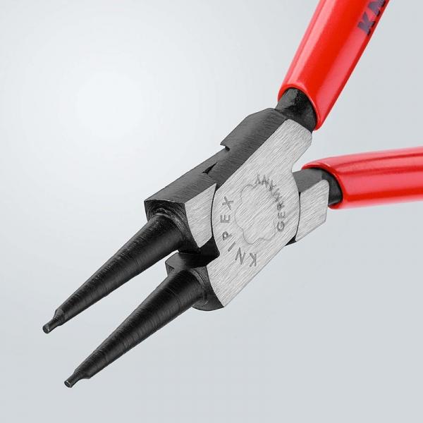 Cleste profesional pentru inele de siguranta Knipex KNI4411J1, 140 mm 3