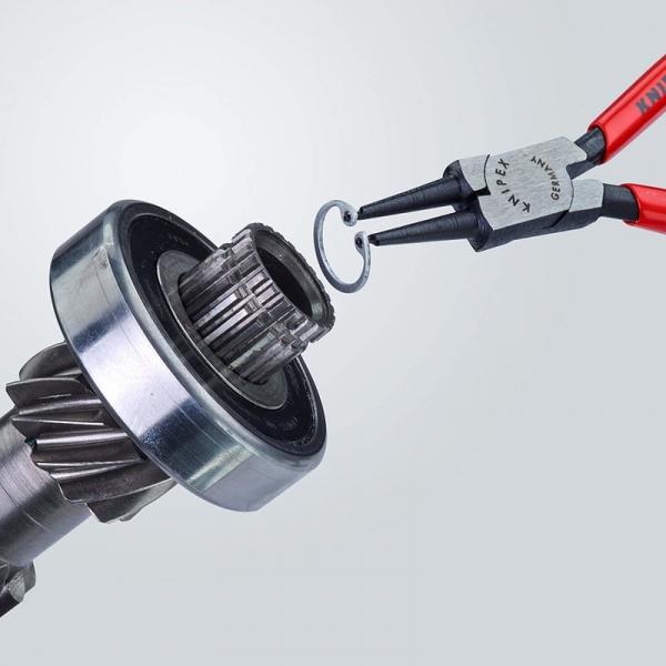 Cleste profesional pentru inele de siguranta Knipex KNI4411J1, 140 mm 4