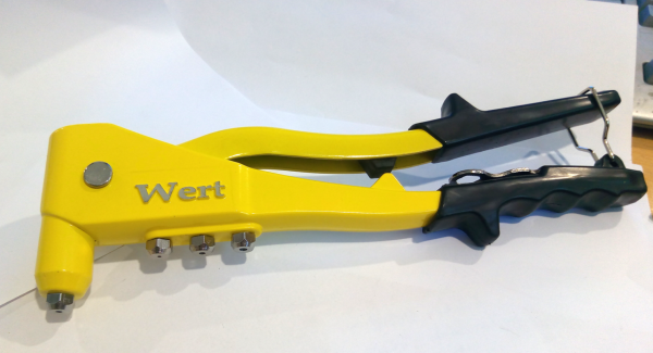 Clește popnituri Wert W2170, 2.4-4.8 mm 1