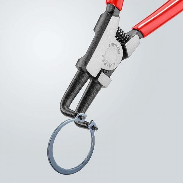 Cleste de deschidere cu varfuri indoite pentru inele de siguranta Knipex KNI4621A21, 170 mm 2