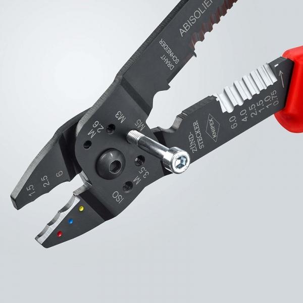Cleste profesional pentru sertizat Knipex KNI9721215, 230 mm 3