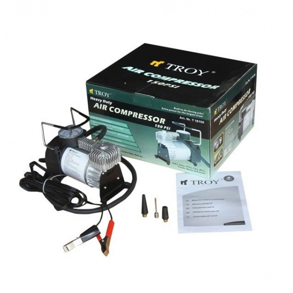 Compresor auto Troy T18150, 12 V, 15 bari 1