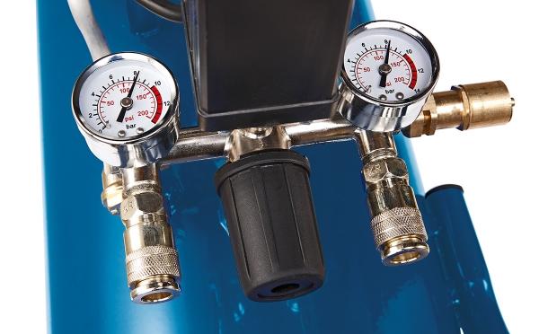 Compresor cu doi cilindri HC53DC Scheppach SCH5906102901, 2200 W, 50L, 10 bari 1