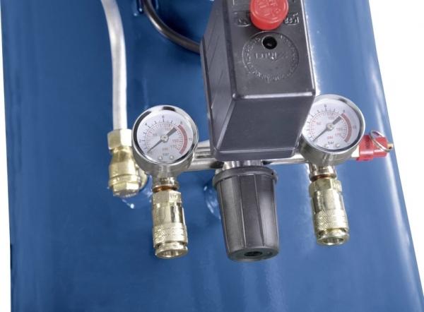 Compresor cu doi cilindrii HC100DC Scheppach SCH5906120901, 2200 W, 100 L, 8 bari 2