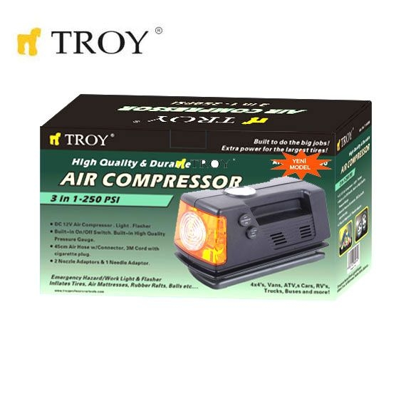 Compresor auto Troy T18250, 12 V, 250 Psi 1