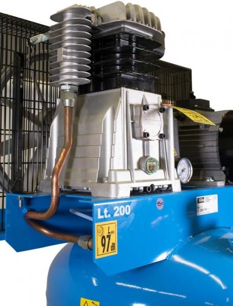 Compresor stationar cu piston dublu Guede GUDE01747, 3000 W, 200 L, 10 bari 2
