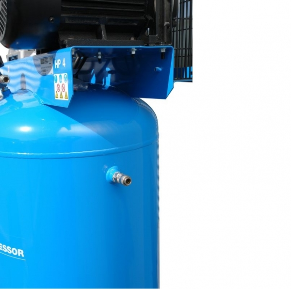 Compresor stationar cu piston dublu Guede GUDE01747, 3000 W, 200 L, 10 bari 1