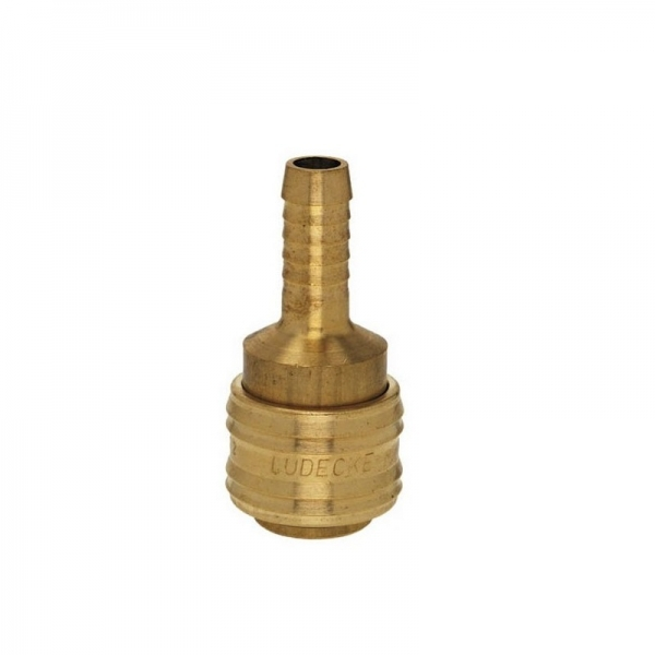 Conector aer comprimat pentru cuplare furtun Ludecke LUDES10T, 10 mm 0