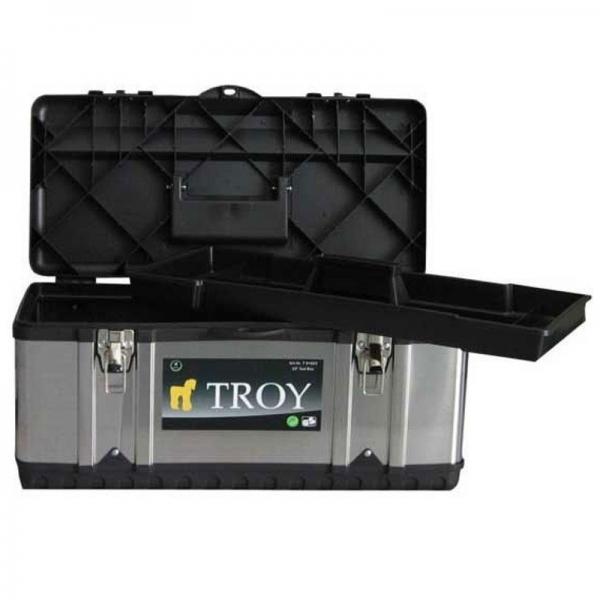 Cutie de scule metalică Troy T91016, 39 x 17 x 17 cm 0
