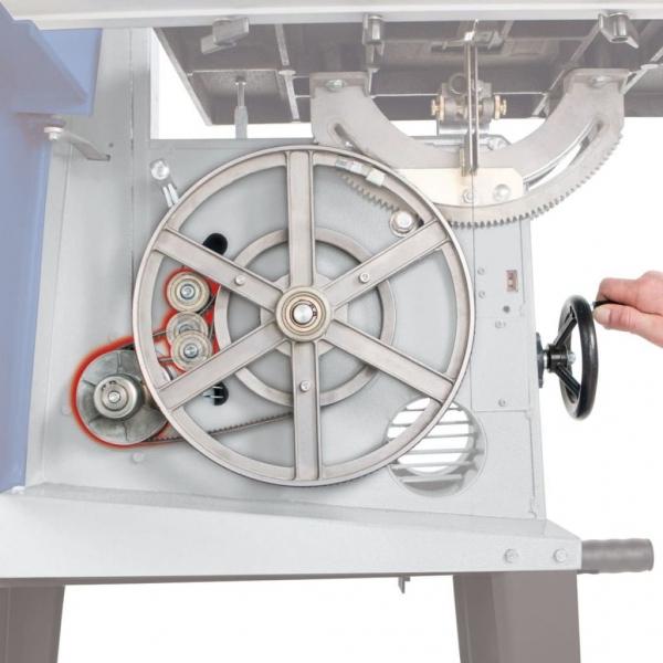 Fierăstrău cu bandă BASA3 Scheppach SCH1901503901, 800 W, 1400 rpm 9