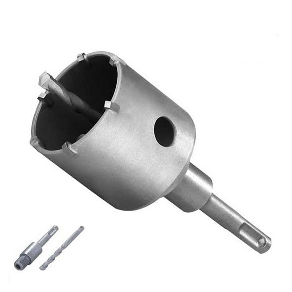 Carotă SDS-Plus cu pastile din carbură de tungsten (wolfram) Troy T27490, Ø67 mm 0