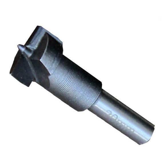 Freză pentru găuri în lemn armată cu placă de carbură de wolfram Wert W2502, Ø20 mm 0
