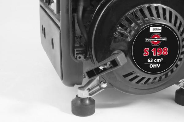 Generator de curent pe benzina GSE 951 Guede GUDE40726, 650 W 1