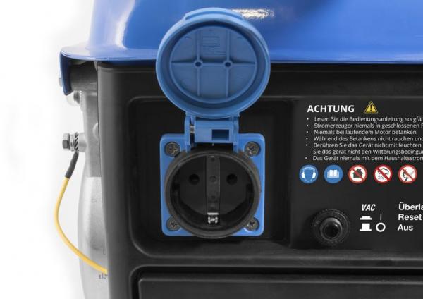 Generator de curent pe benzina GSE 951 Guede GUDE40726, 650 W 3