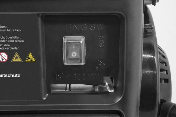 Generator de curent pe benzina GSE 951 Guede GUDE40726, 650 W 4