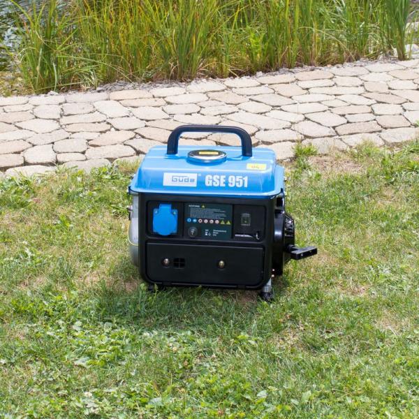 Generator de curent pe benzina GSE 951 Guede GUDE40726, 650 W 5