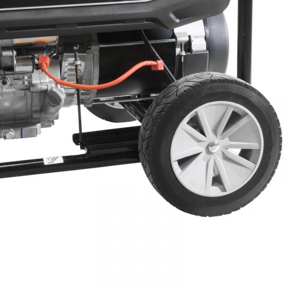 Generator de curent pe benzină GSE 6701 RS Guede GUDE40730, 9000 W, 2x230 V, 1x400 V 3