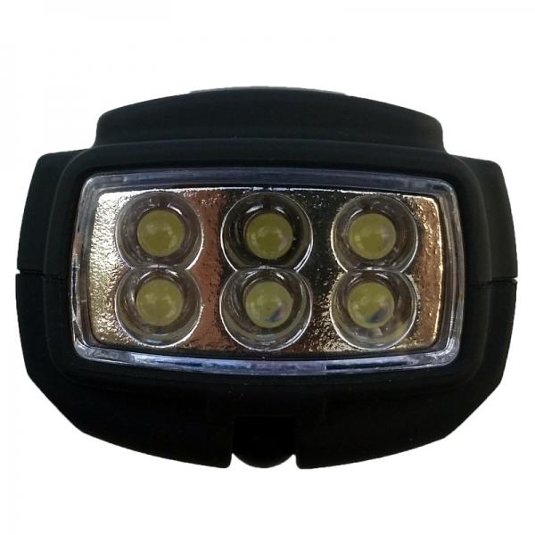 Lampa de lucru cu acumulator Troy T28055, COB LED + 6 LED-uri 4