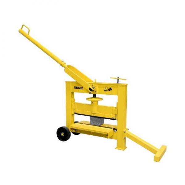 Maşină de tăiat pavele şi cărămizi (ghilotină) GSK 140/420 Guede GUDE55381 0