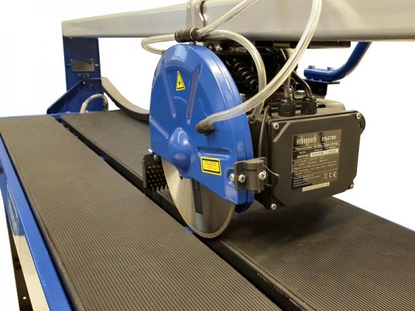 Maşină de taiat gresie si faianţă cu sistem de răcire pe apă FS4700 Scheppach SCH5906707901, 1200 W, Ø230 mm 4